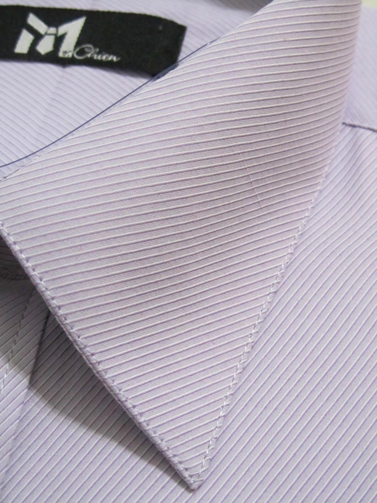 sun-e333特加大尺碼短袖條紋襯衫、上班族襯衫、標準襯衫、商務襯衫、正式場合襯衫、柔棉舒適襯衫、不皺免燙襯衫、細條紋襯衫(333-B518-01)白色斜條紋襯衫(333-B394-23)紫色斜條紋襯衫(333-B335-09)藍色直條紋襯衫 領圍:19.5、20.5、21.5、22.5 2