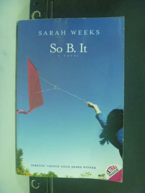 【書寶二手書T4/原文小說_HMN】So B. It_Weeks, Sarah