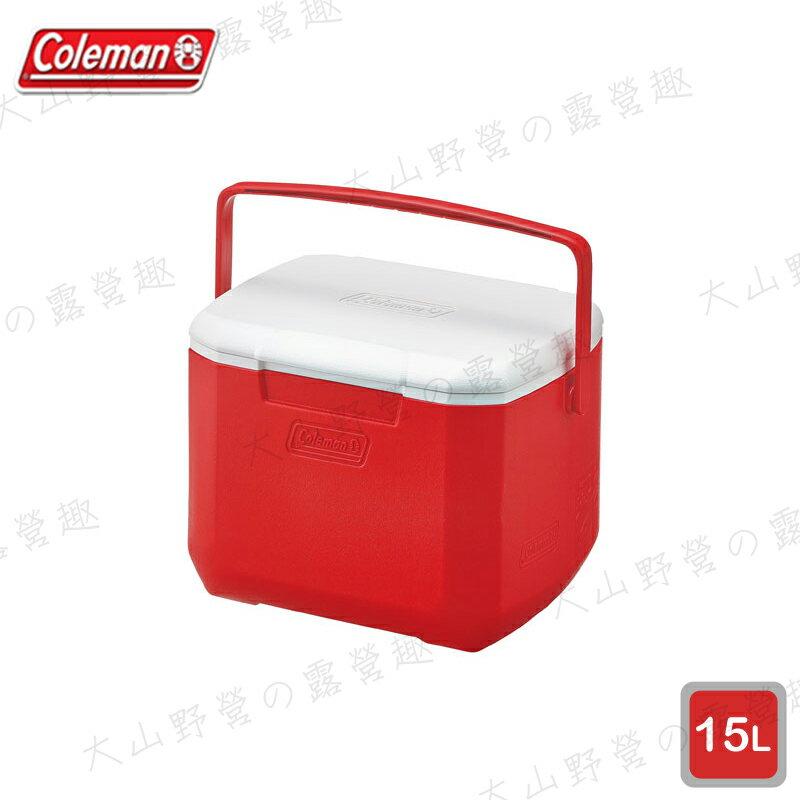 【露營趣】Coleman CM-27860 15L Excursion 美利紅冰箱 手提冰桶 露營冰桶 行動冰箱 野餐籃