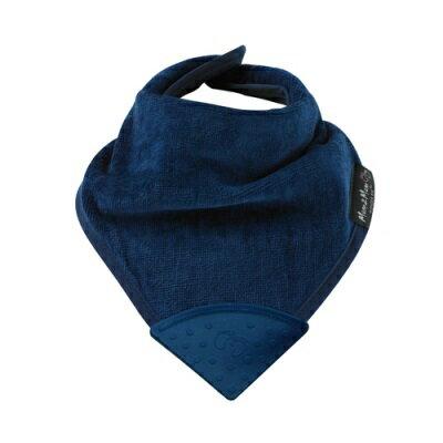 紐西蘭Mum2Mum 機能型神奇三角口水巾咬咬兜(深藍)