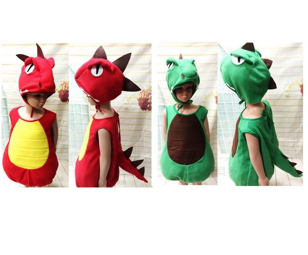 萬聖節服裝,萬聖節裝扮,恐龍裝,兒童變裝服-暴龍服裝 /可愛澎澎恐龍服
