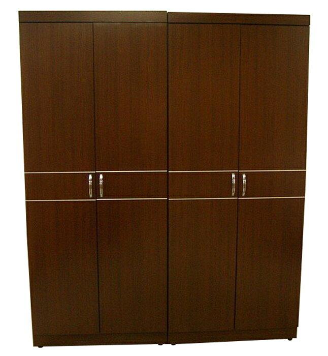 【尚品傢俱】※超便宜※642-02 胡桃5尺衣櫃衣櫥~另有白橡色