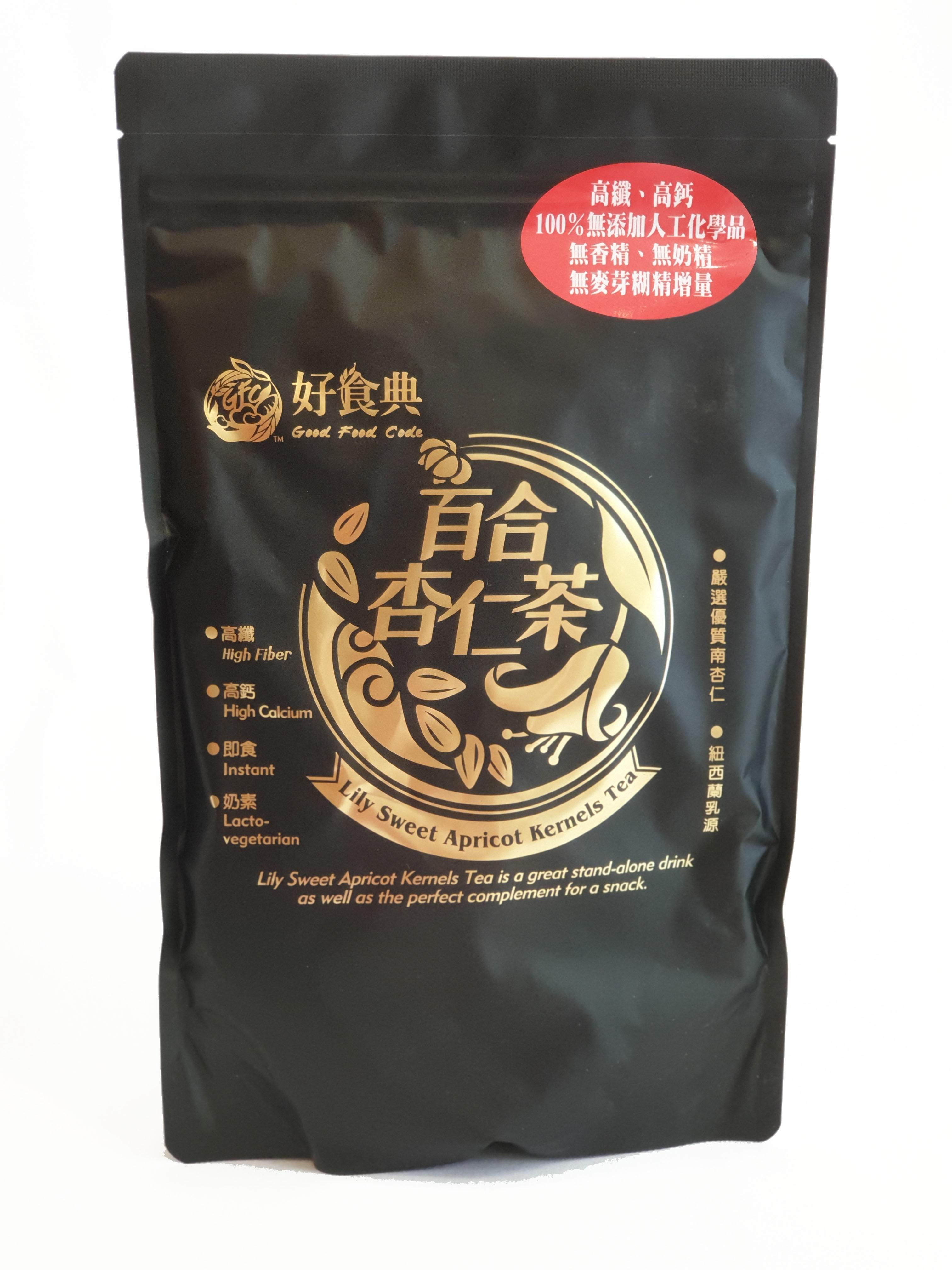 好食典 百合杏仁茶 450公克/包 (台灣製造)