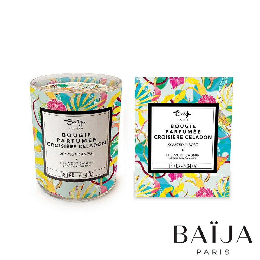 巴黎百嘉 茶香茉莉 香氛蠟燭 180g 大豆蠟 純植物蠟 可按摩 法國製造 Baija Paris 香鼻子選品 Les nez