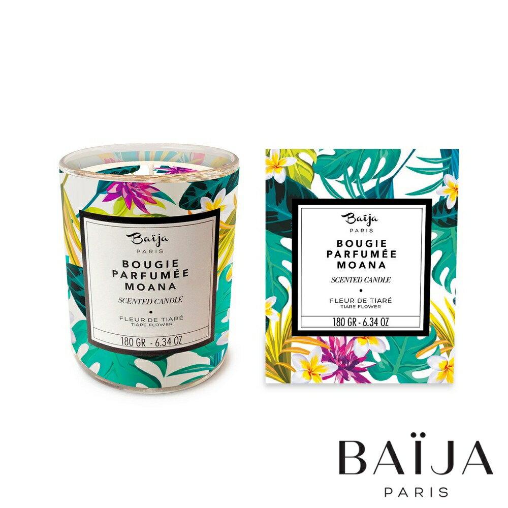 巴黎百嘉 海洋槴子花 香氛蠟燭 180g 大豆蠟 純植物蠟 可按摩 法國製造 Baija Paris 香鼻子選品 Les nez