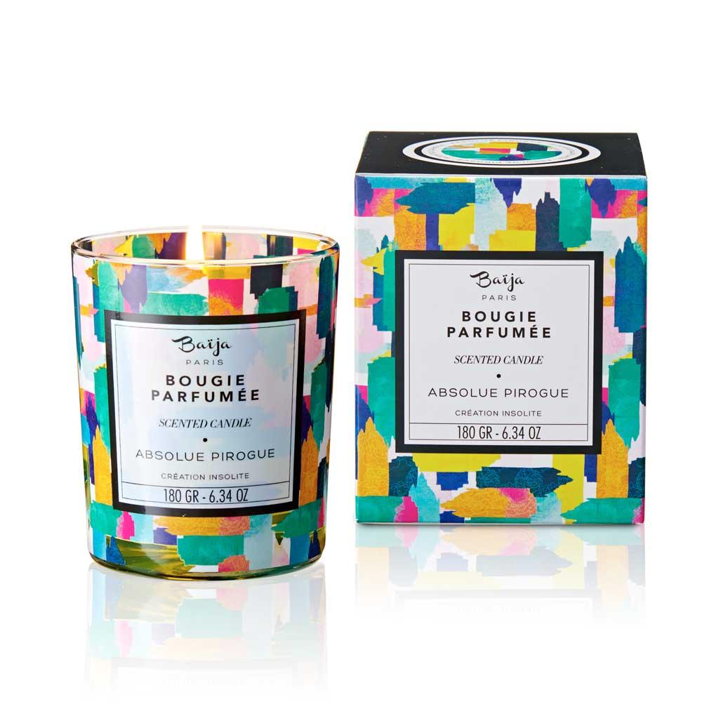 巴黎百嘉 莫內花園 格拉斯香氛蠟燭 180gr 大豆蠟 純植物蠟 可按摩 法國製造 Baija Paris 香鼻子選品 Les nez