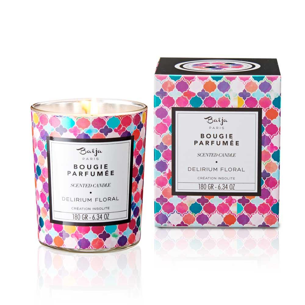 巴黎百嘉 花卉幻想曲 格拉斯香氛蠟燭 180gr 大豆蠟 純植物蠟 可按摩 法國製造 Baija Paris 香鼻子選品 Les nez