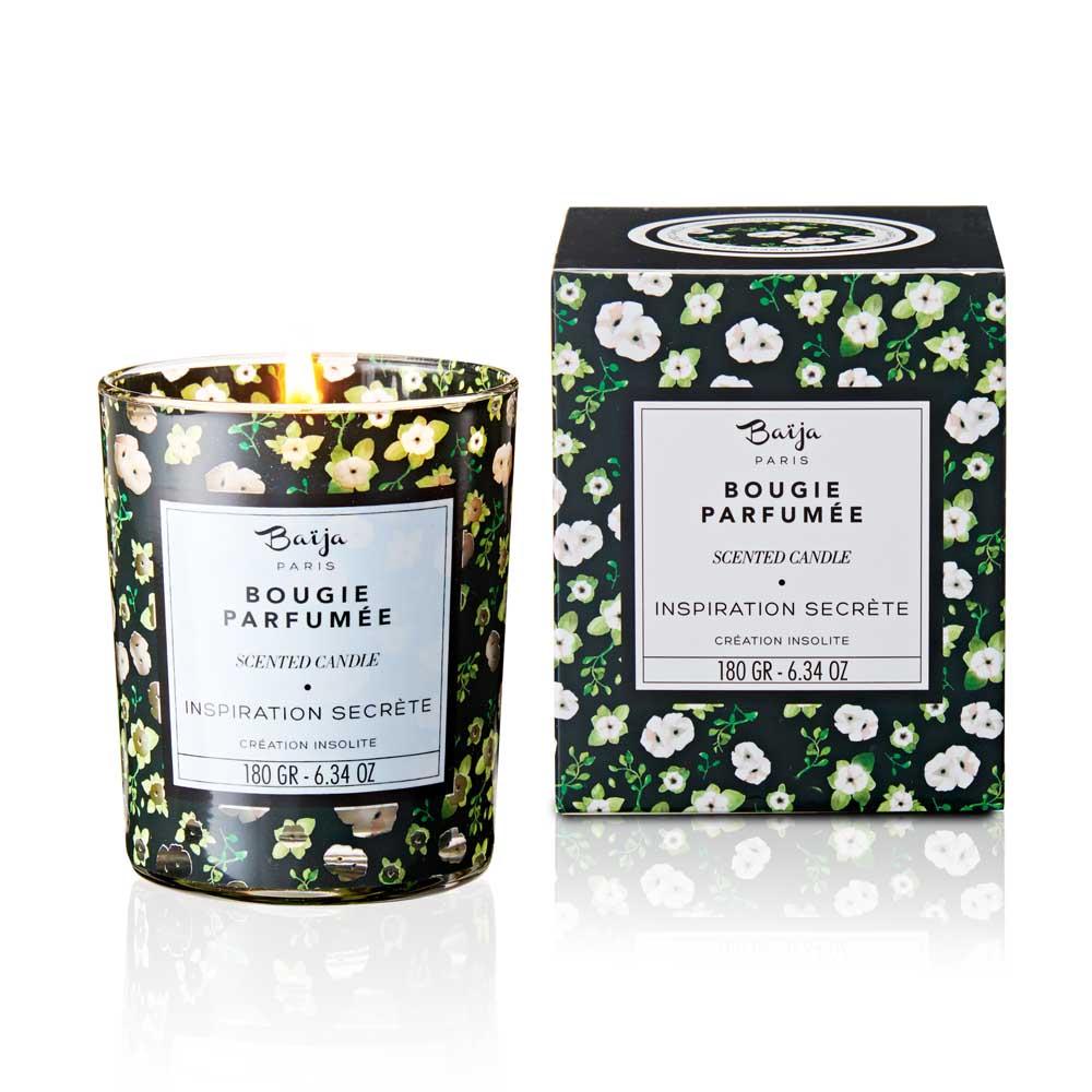 巴黎百嘉 柚香塔提西 格拉斯香氛蠟燭 180gr 大豆蠟 純植物蠟 可按摩 法國製造 Baija Paris 香鼻子選品 Les nez