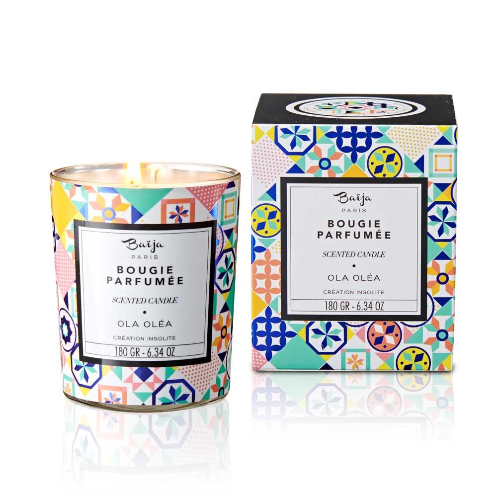 巴黎百嘉 塞納河漫步 格拉斯香氛蠟燭 180gr 大豆蠟 純植物蠟 可按摩 法國製造 Baija Paris 香鼻子選品 Les nez