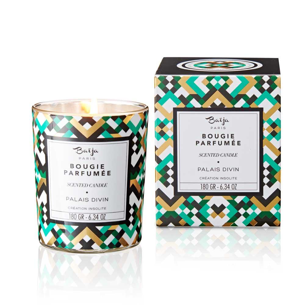 巴黎百嘉 神聖殿堂 格拉斯香氛蠟燭 180gr 大豆蠟 純植物蠟 可按摩 法國製造 Baija Paris 香鼻子選品 Les nez