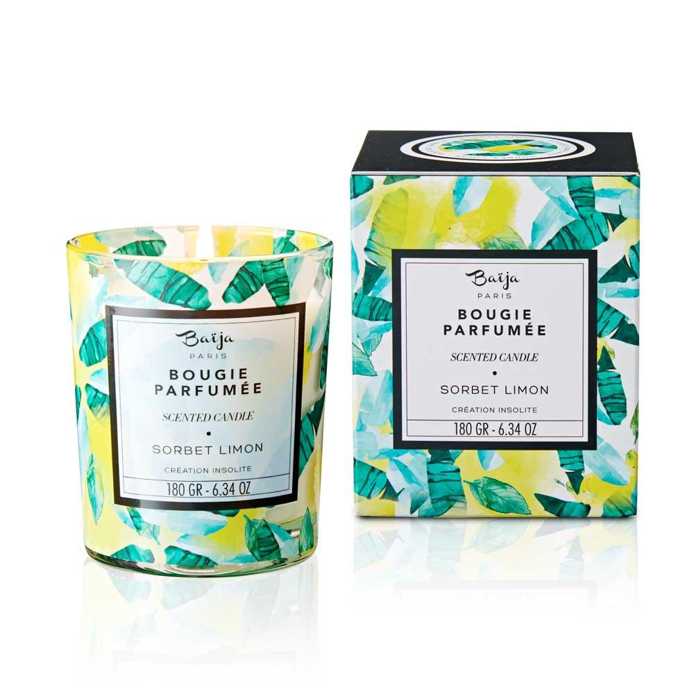 巴黎百嘉 蒙頓嘉年華 格拉斯香氛蠟燭 180gr 大豆蠟 純植物蠟 可按摩 法國製造 Baija Paris 香鼻子選品 Les nez