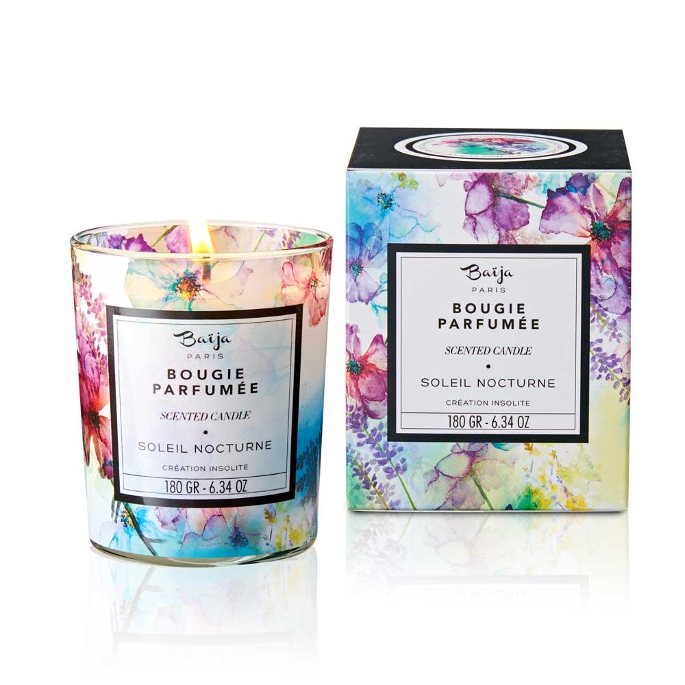 巴黎百嘉 瑪德蓮夜曲 格拉斯香氛蠟燭 180gr 大豆蠟 純植物蠟 可按摩 法國製造 Baija Paris 香鼻子選品 Les nez