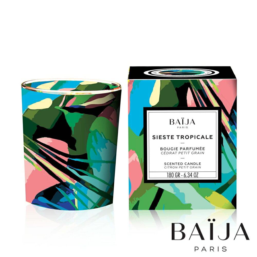 巴黎百嘉 伊甸園 香氛蠟燭 180g 大豆蠟 純植物蠟 可當按摩油 法國製造 Baija Paris 香鼻子選品 Les nez
