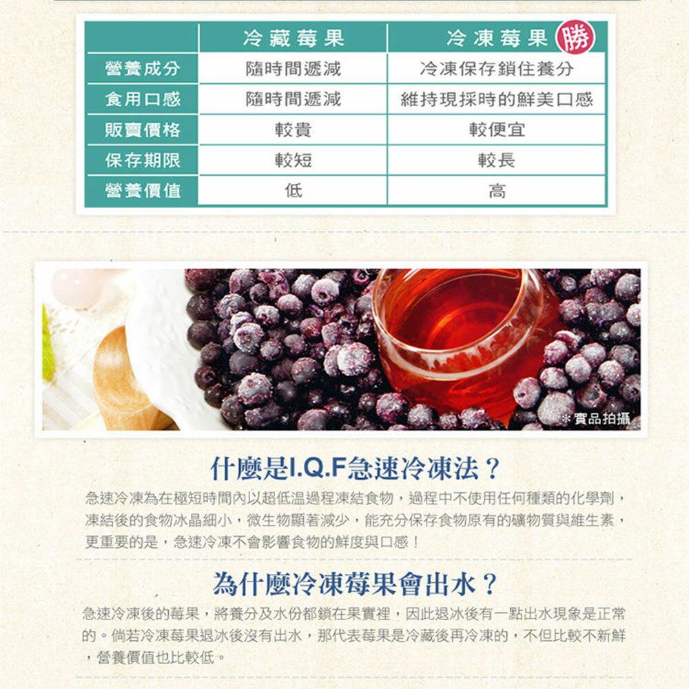 ▶【幸美生技】進口急凍莓果 加拿大進口野生藍莓 1公斤 2