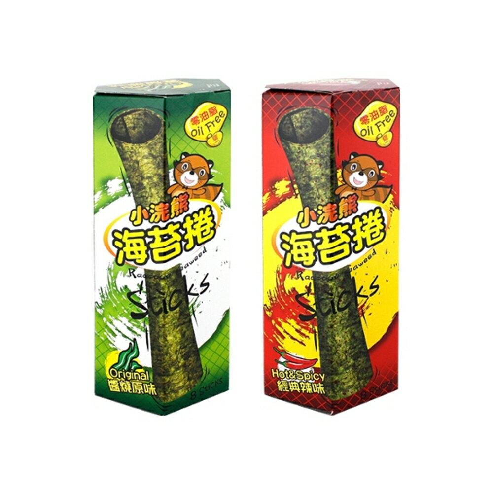 小浣熊 海苔捲(24g) 原味/麻辣【小三美日】烤海苔/團購超夯◢D602018