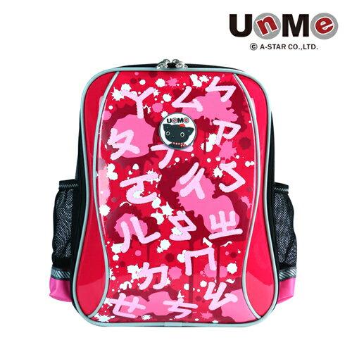 X射線【C3267】UnMeㄅㄆㄇ學員書包3267(玫瑰紅)台灣製造,開學必備/護脊書包/書包/後背包/背包/便當盒袋/書包雨衣/補習袋/輕量書包/拉桿書包