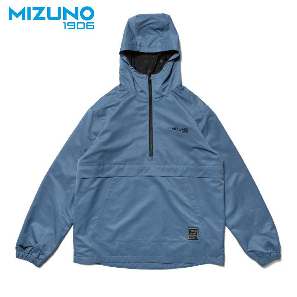 MIZUNO SPORTS STYLE 男款平織防風衣 D2TC957318(灰藍)【美津濃MIZUNO】 0
