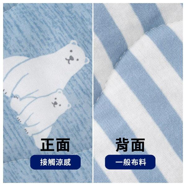 接觸涼感 枕頭保潔墊 N COOL POLARBEAR Q 19 NITORI宜得利家居 9