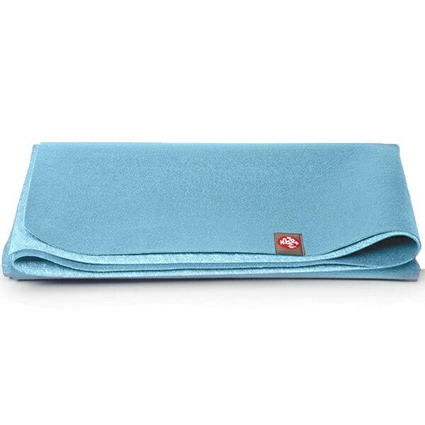 Manduka Travel Mat 天然橡膠旅行瑜珈墊 1.5mm 冰原藍 Gyser