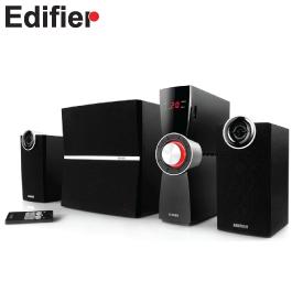 漫步者EDIFIER C2XD 2.1聲道 三件式喇叭 /光纖輸入/LED數位音量顯示/紅外線遙控/6.5吋重低音音箱【福利品出清】