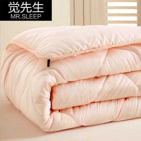 被子棉被被芯單人雙人被褥秋冬天加厚保暖全棉太空被