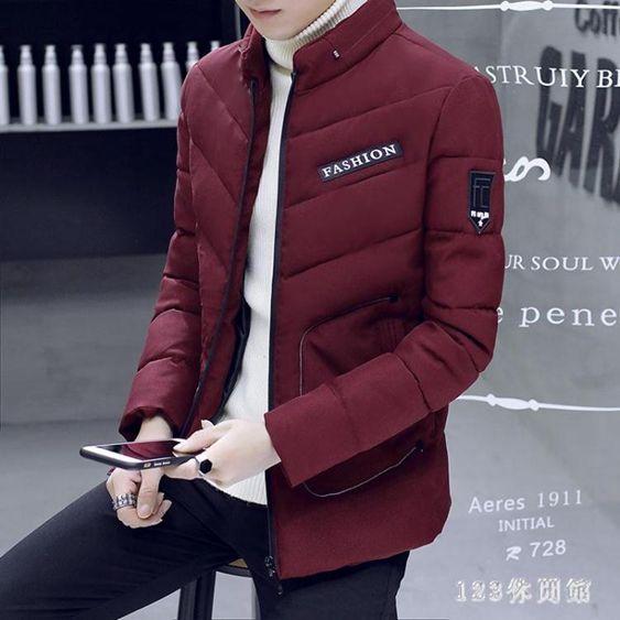 冬季羽絨外套青年短款韓版男裝潮流棉衣帥氣棉襖大碼長袖外套EY8763