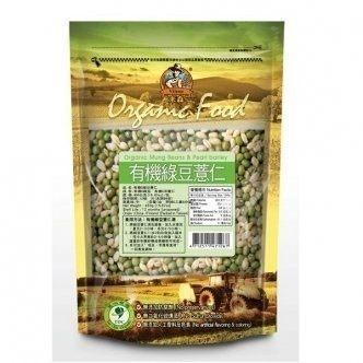 青荷 米森 有機綠豆薏仁 450g