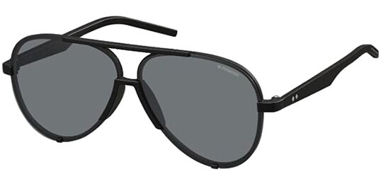 Polaroid 60mm Aviator Men's Sunglasses