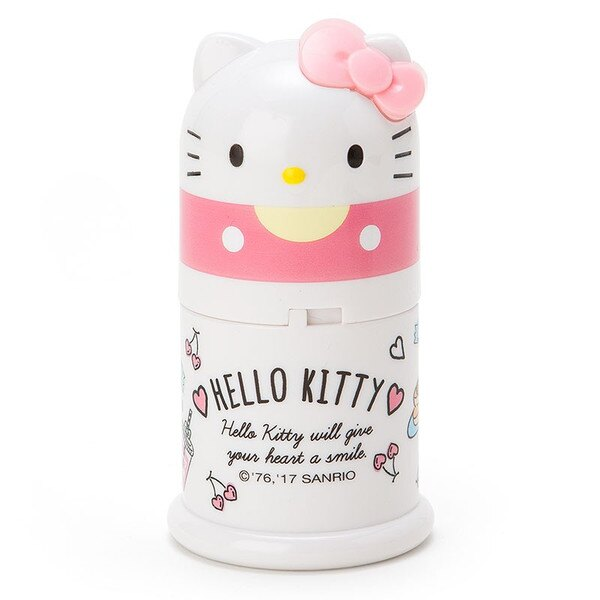 X射線【C986646】Hello Kitty 造型牙籤罐-粉,保鮮罐/食物儲藏/保鮮盒/便當盒/儲米器/密封罐/調理罐/廚房