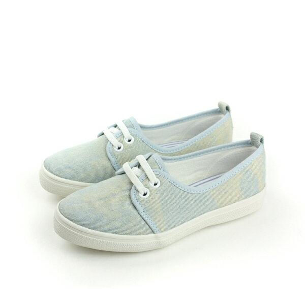 懶人鞋 藍 中童 no041