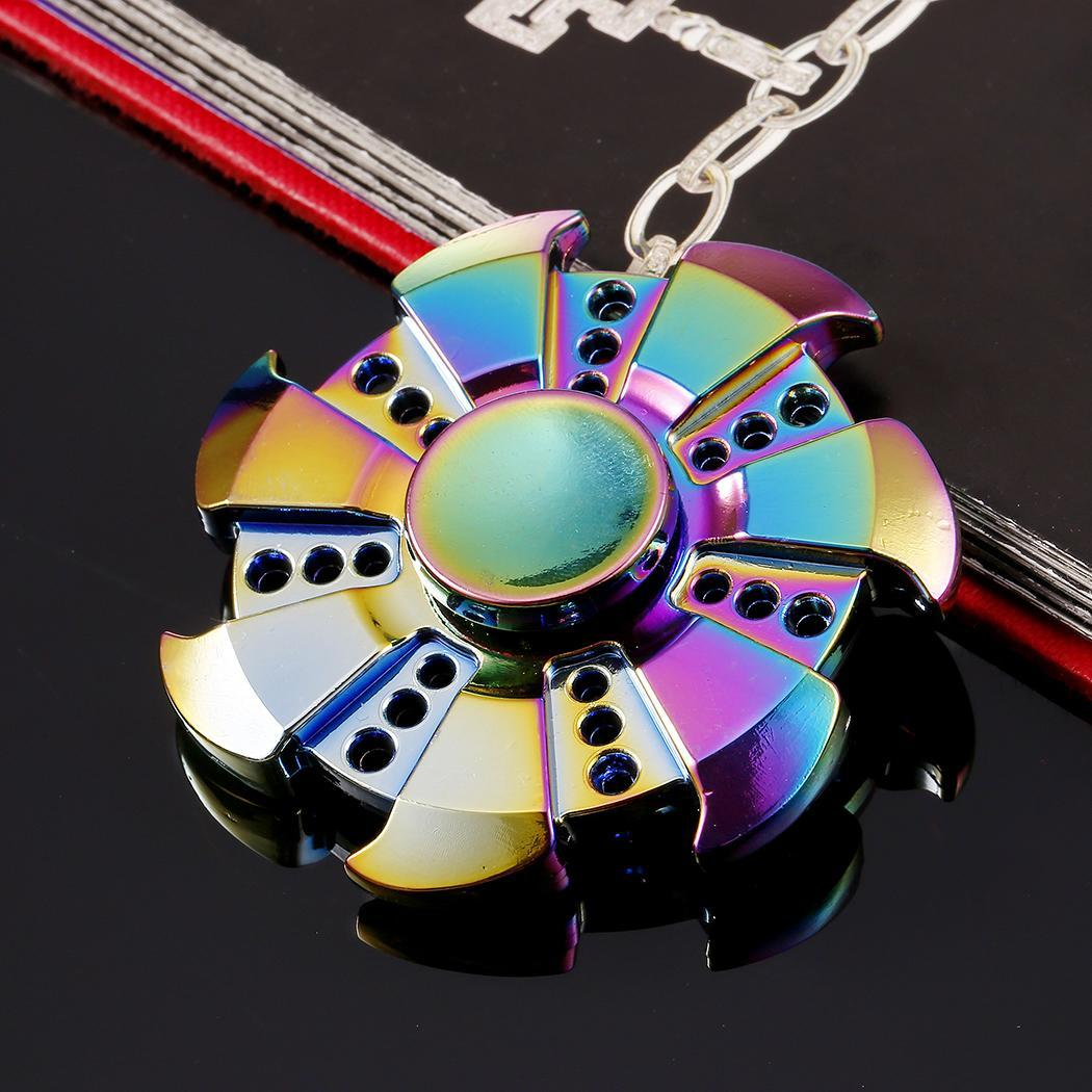Multi-Color Metal Hand Spinner Fidget Spinner 4