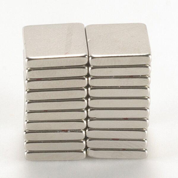 徽耀國際 Mark Honor:強力磁鐵釹鐵硼方邊長1.0公分*1.0公分*0.2公分20個