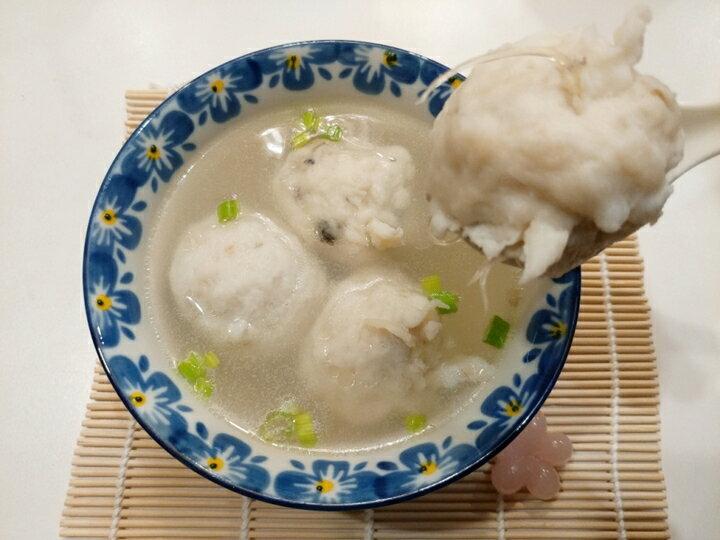 【東港漁霸】魚翅香菇蝦丸 --- 600克(包) 海鮮 / 魚丸 / 禮盒