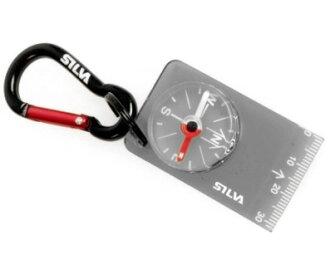 【【蘋果戶外】】SILVA S36694 #28【迷你】瑞典森林 Carabiner #28 鉤環指北針 可當鑰匙圈 外出登山露營自行車單車 擁有360度刻度。