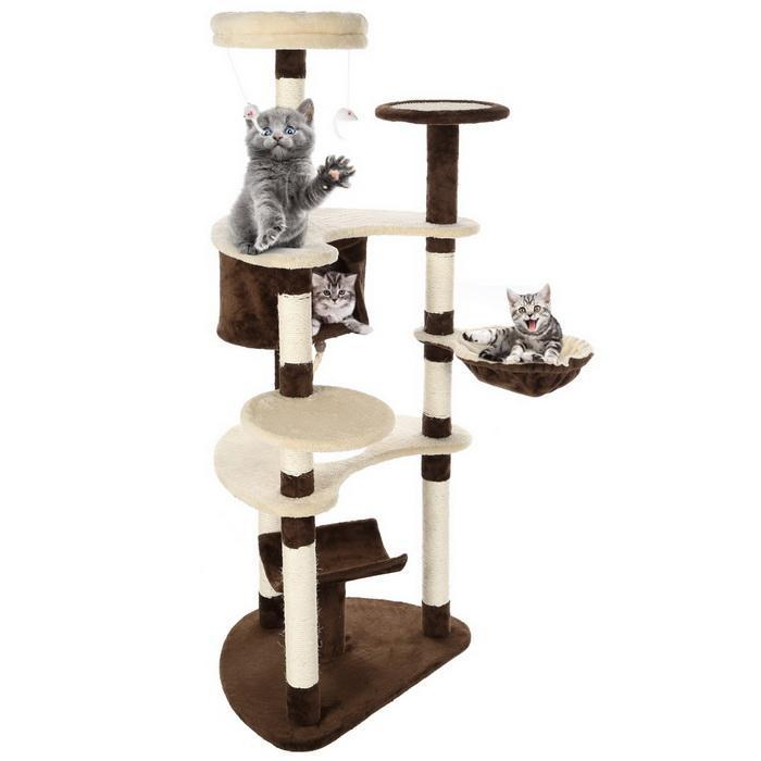 Cat Tree Furniture Cat Scrather with Sisal Post 72 inch Height 3
