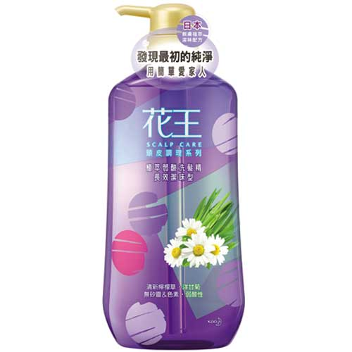 花王 植萃弱酸洗髮精 長效潔味型 750ml