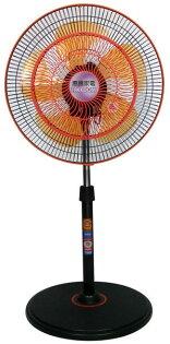 ◤台灣製造◢惠騰14吋360度雙層網循環工業立扇FR-1499