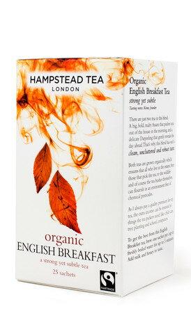 有機英國早餐茶~天然有機香醇可口~世界知名英國倫敦漢普斯敦原裝進口有機茶~英國早餐茶~Hampstead Tea - London