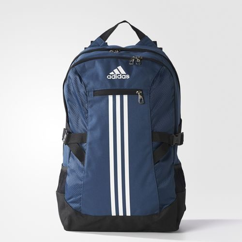 ADIDAS MOCHILA TRAINING POWER II LS 後背包 藍 白 【運動世界】 AJ9469