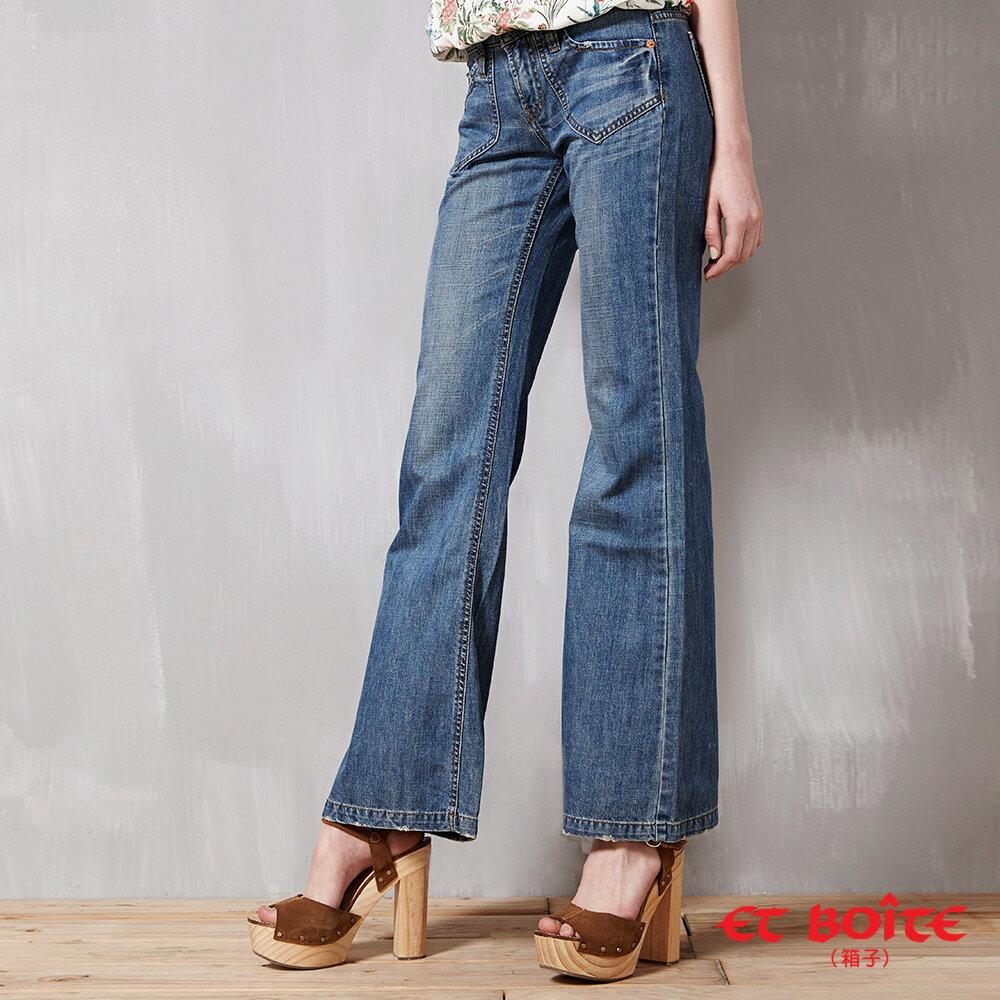 【均一價990】時尚都會寬褲 - BLUE WAY  ET BOiTE 箱子 1