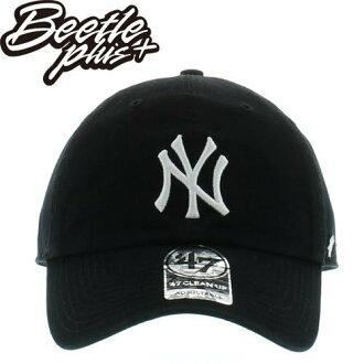 BEETLE 47 BRAND 老帽 紐約 洋基 NEW YORK YANKEES DAD HAT 大聯盟 MLB 黑白 MN-388