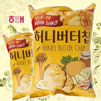 【HAITAI海太】蜂蜜奶油洋芋片 薯片 60g 해태 허니버터칩 韓國進口零食