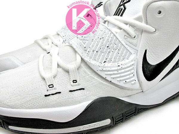 2020 Kyrie Irving 最新代言鞋款 限量發售 NIKE KYRIE 6 VI EP OREO PACK 白黑 潑墨 潑漆 前掌 ZOOM TURBO AIR 氣墊 (BQ4631-100) 0320 2