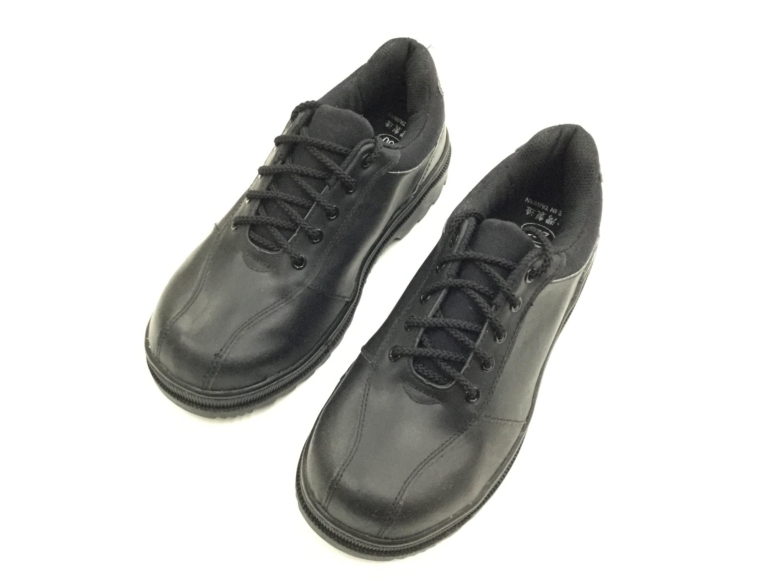 ※555鞋※鐵客 鞋帶款 安全鞋1365 黑色 耐滑大底 工作鞋 鋼頭鞋 台灣製造~品質保證※贈送襪子~