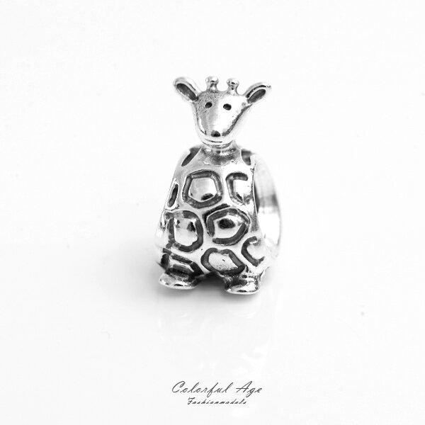 PANDORA潘朵拉925純銀墜飾-長頸鹿【NTP3】柒彩年代
