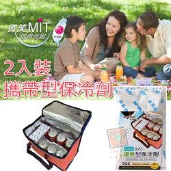 ORG《SD1130b》台灣製~2入裝 隨身 保冷劑 保冷包 可重複使用 環保型保冷劑 露營 野餐 戶外用品 SGS認證