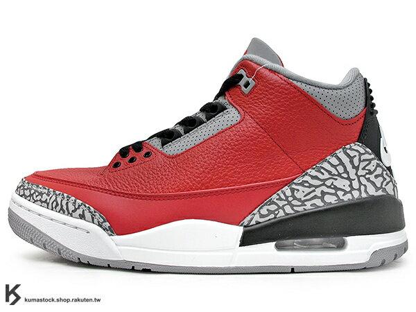 2020 復刻上市 全新配色 NIKE JORDAN 3 III RETRO SE UNITE FIRE RED 男鞋 紅黑白 紅黑 芝加哥 明星賽 爆裂紋 OG 老屁股 AJ 23 (CK5692-600) ! 0