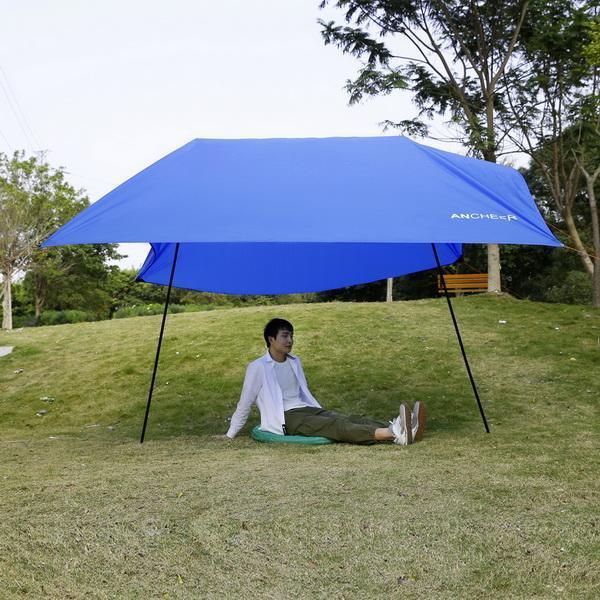 Beach Tent Portable Canopy SunShade Sun Shelter 3 x 3m 1