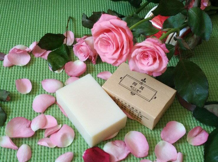 玫瑰天竺葵精油手工皂100g