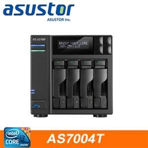 【綠蔭-免運】ASUSTOR華芸AS-7004T4Bay網路儲存伺服器